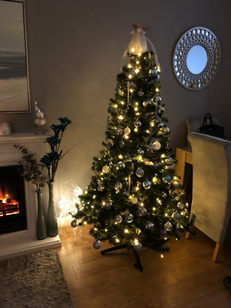 Christmas Tree - Who Says Alcoholics & Addicts Can't Get Into the Spirit of Christmas? :)