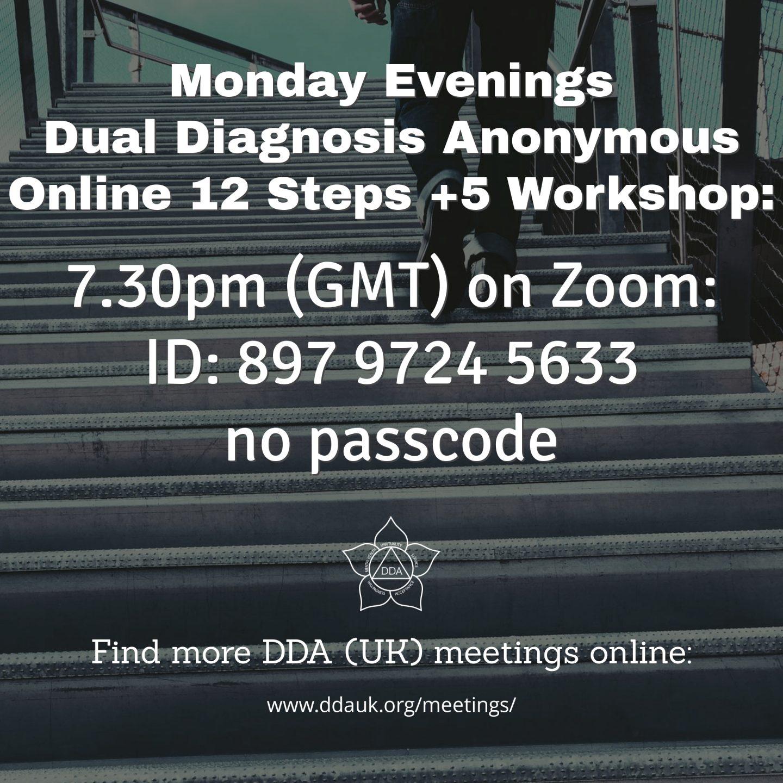 Monday DDA Step Workshop (7.30pm GMT)