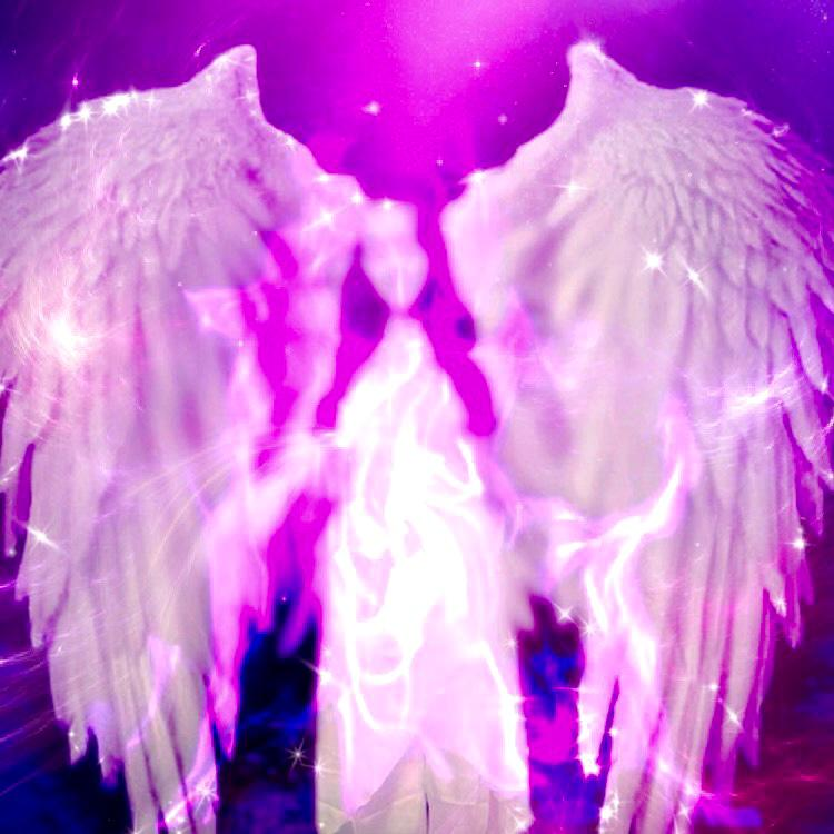 Archangel Raphael and his healing Purple flame.